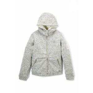 Reebok Zip Up Sherpa Lined Hoodie Jacket